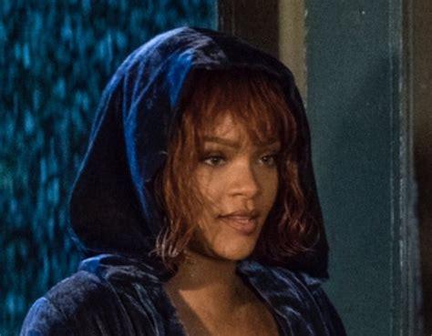 Rihanna Livestreamed Herself Watching Her Bates Motel