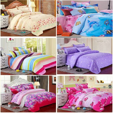bedding sets sale promotion sale freeshipping rea print 4pc bedding sets 1