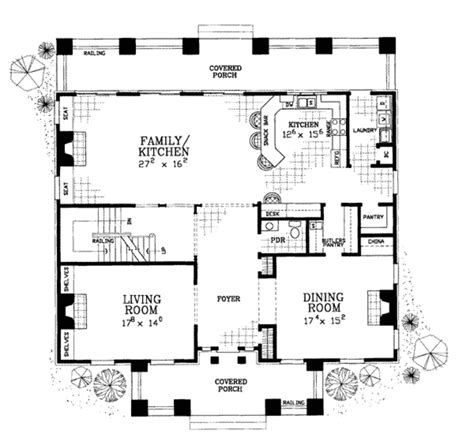 classical style house plan 4 beds 3 5 baths 4000 sq ft