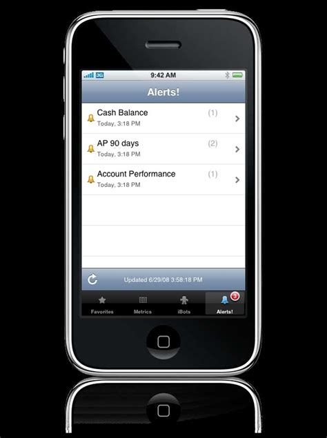 oracle launches iphone business app techrepublic