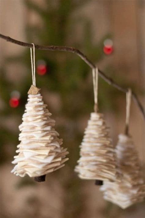 Handmade Tree Ornaments - 25 unique easy felt crafts ideas on crafts