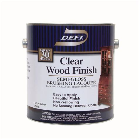 Clear Wood Stain Interior by Minwax 8 Oz Clear Matte Polycrylic Protective Finish