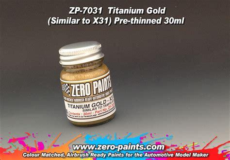Tamiya Acrylic X 31 Paint X 31 X31 Akrilik Tita Gold Titanium Color titanium gold paint 30ml similar to tamiya x31 zp 7031 zero paints