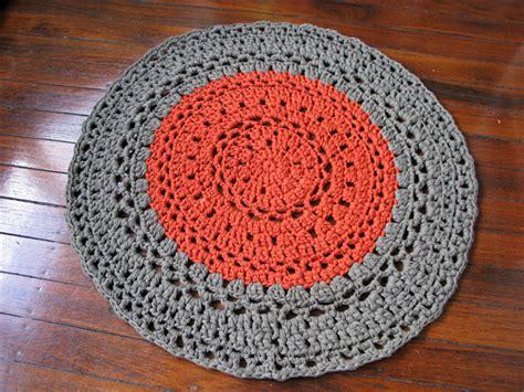 crochet tshirt yarn rug khaki copper crochet rug mat t shirt yarn chompa handmade madeit au