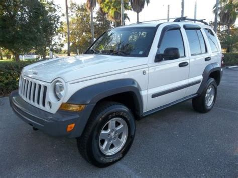 2005 Jeep Liberty Turbo Diesel Purchase Used 2005 Jeep Liberty 4x4 Crd Turbo Diesel In