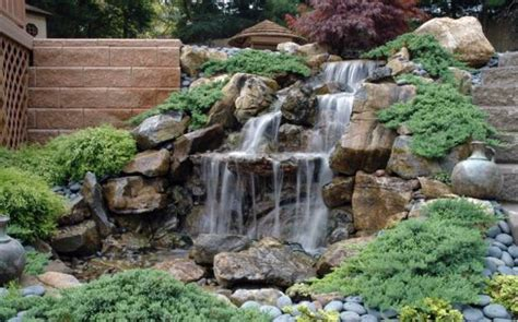 waterfall ideas for backyard 20 spectacular backyard ideas waterfalls that top off