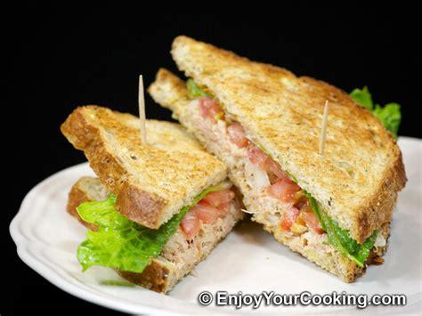 Tuna Blackpepper King Sandwich tuna salad sandwich recipe my food recipes
