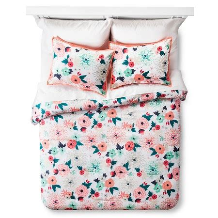 target kids bedding multi floral printed comforter set multicolor