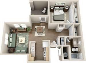 one bedroom floorplan hillcrest durango apartments