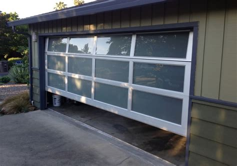 Modern Overhead Door Modern Contemporary Garage Door Design And Installation Madden Door Sf Bay Area Concord