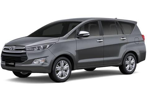 Toyota Innova 2016 2016 Toyota Innova Specifications Detailed In New