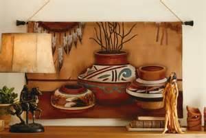 Southwestern Wall Decor by Southwestern Decor Pottery Tapestry Wall Hanging New Ebay
