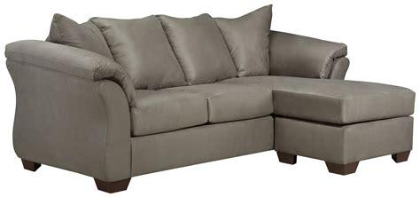signature design by darcy sofa chaise signature design by darcy cobblestone 7500518