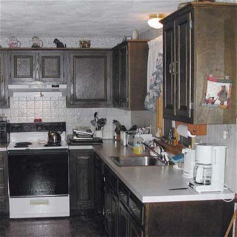 preparing kitchen cabinets for painting painting old kitchen cabinets before and after prep the