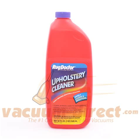 Upholstery Cleaning Products by Rug Doctor 1 Quart Oxy Steam Upholstery Cleaner