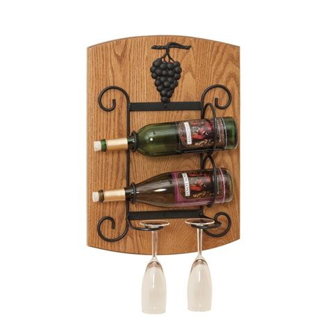 Wall Hanging Wine Rack by Wall Hanging Wine Rack Amish Made In Pa Wine Rack For