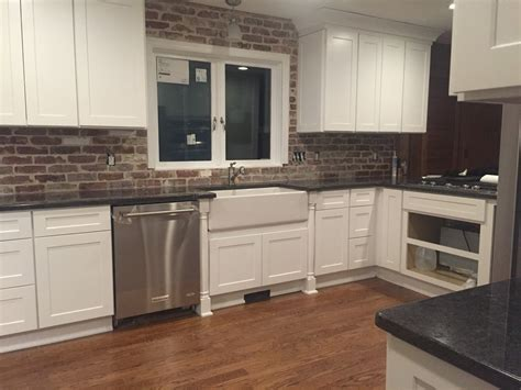 brick backsplash kitchen thin brick tiles demystified reclaimed brick tile
