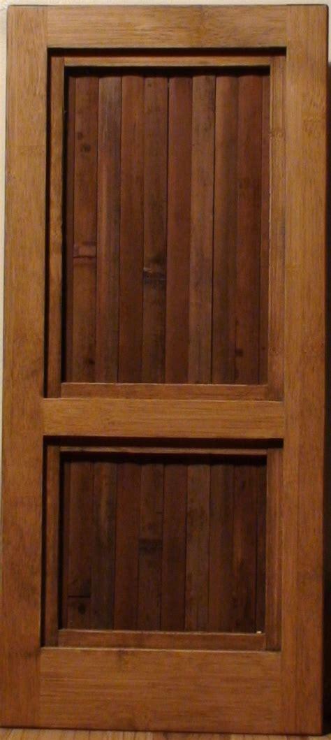 Bamboo Interior Doors This Is Make Scrap Solid Wood 6 Panel Doors Wood Working
