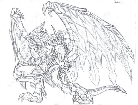 bahamut the dragon king by callme nobodi on deviantart