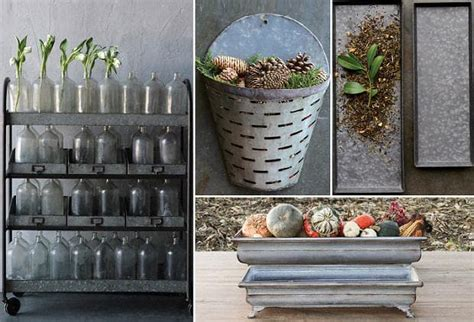galvanized home decor 28 images galvanized bins home