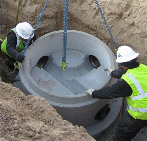 Plumbing New Construction by Precast Concrete Supplier Albuquerque Nm Manholes Storm