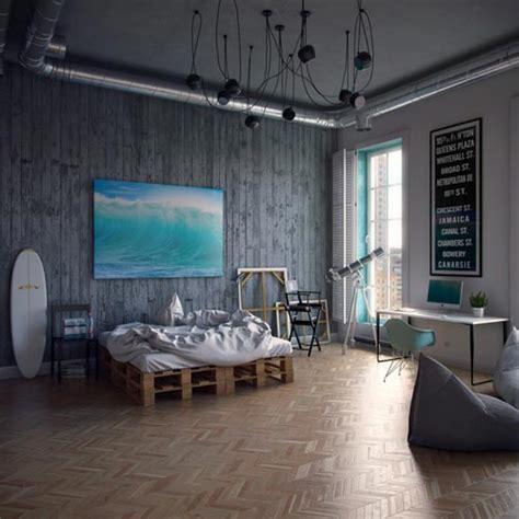 Palet Bed Industri 235 Le Slaapkamer Door Architect Andrey Vladimirov
