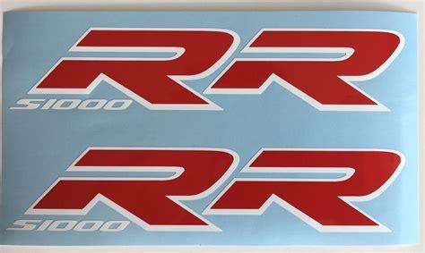 Bmw S 1000 Rr Aufkleber Set by Aufkleber Set 2 Teilig F 252 R Bmw S1000rr Rot Wei 223 U A F 252 R