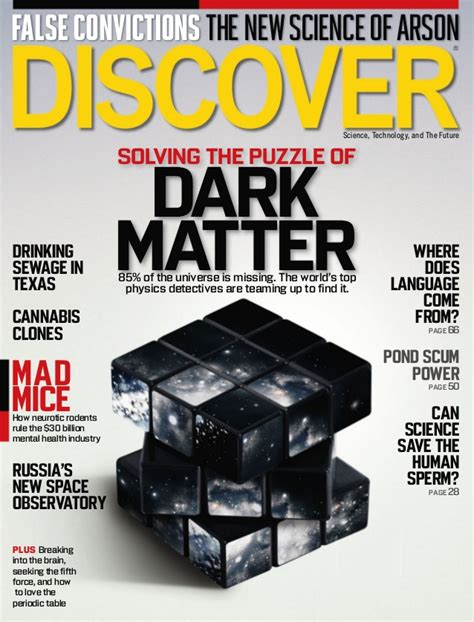 magazine matter solving the puzzle of matter by discover magazine