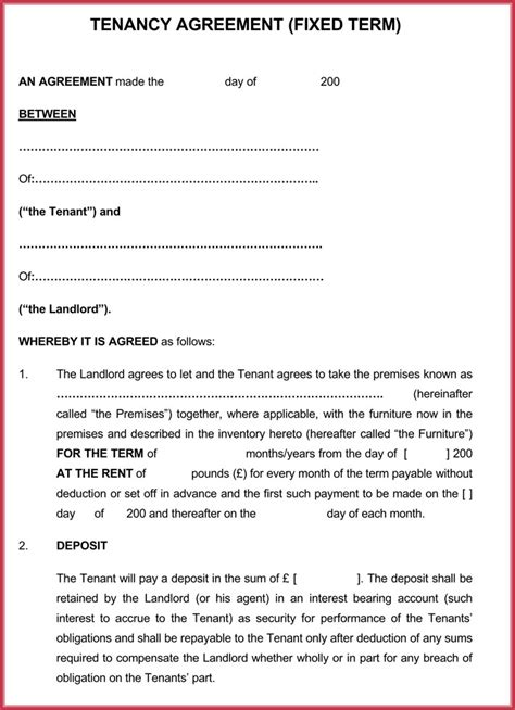 month to month lease agreements month to month rental agreement forms templates doc pdf