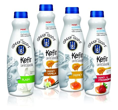 milk design greece the greek gods kefir low fat cultured milk on packaging of