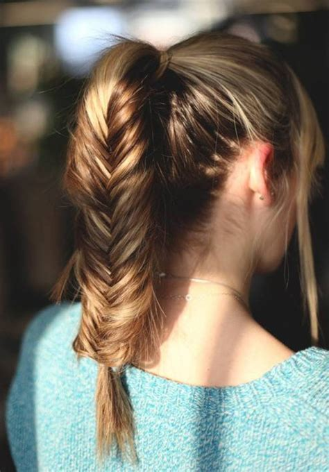 top 10 ponytail hairstyles 10 easy ponytail hairstyles for medium length hair