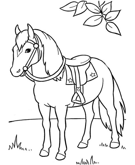 printable coloring pages pony free printable horse coloring pages for kids