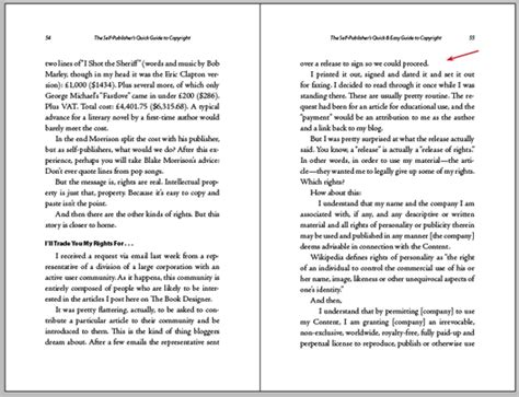 Book Layout Styles | pagination styles shall we kill the widows orphans