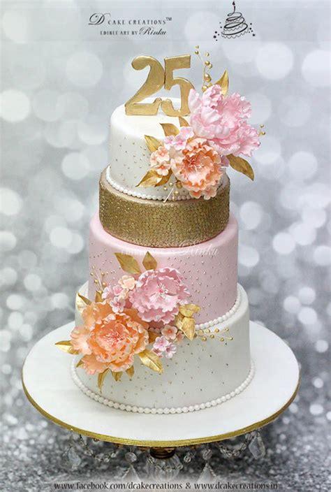 25th Anniversary Cake Cakecentral Com