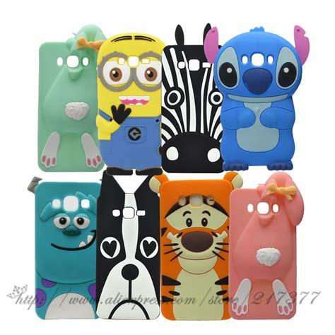 Samsung Galaxy J1 Mini 3d Sulley Stitch Soft Casing Bumper for samsung galaxy on5 cases 3d stitch rabbit sulley tiger silicone rubber back cover