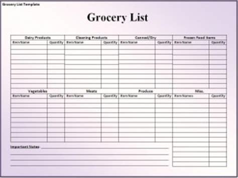 editable grocery shopping list template free editable in ms word grocery list template menu meal