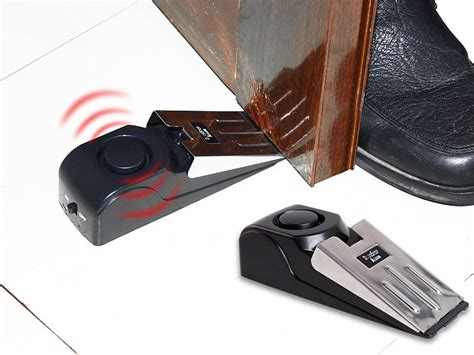 Door Stop Alarm portable security door stop alarm streetwise sales we the best daily deals