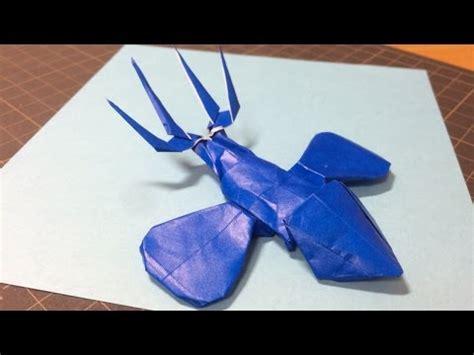 Origami Yveltal - tutorial origami latios latias part 1 doovi