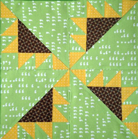 Sunflower Quilt Block Pattern by Kansas Troubles Quilt Block Pattern Source