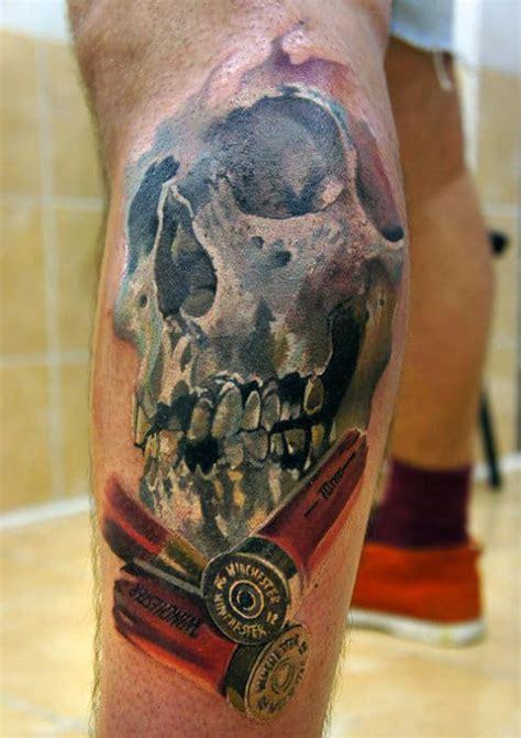 bullet tattoos  men  shot  design ideas