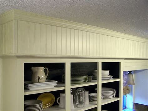 how to cover kitchen cabinets beadboard to cover soffit over cabinets architecture