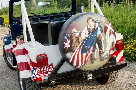 Patriots Jeep Tire Cover Patriotic Jeeps Are Treasures That Arose From Tragedy