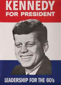 jfk campaign posters lot 486