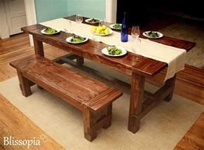 Farm Table Dining Custom Farmhouse Dining Table By Blissopia Custommade