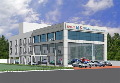 maruti showrooms hometech our projects showrooms