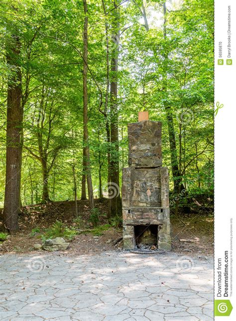 Greenforest Fireplace by Fireplace In Green Forest Stock Photo Image 56595870
