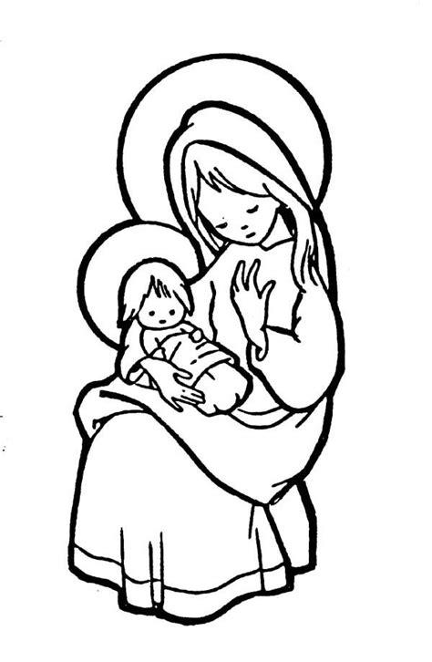 imagenes de la virgen maria para pintar virgen mar 205 a dibujos de la virgen mar 237 a para colorear