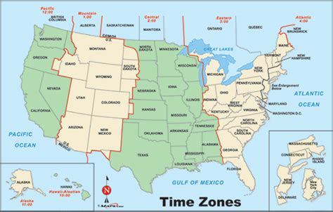 united states map with time zones printable united states time zone map by maps from maps
