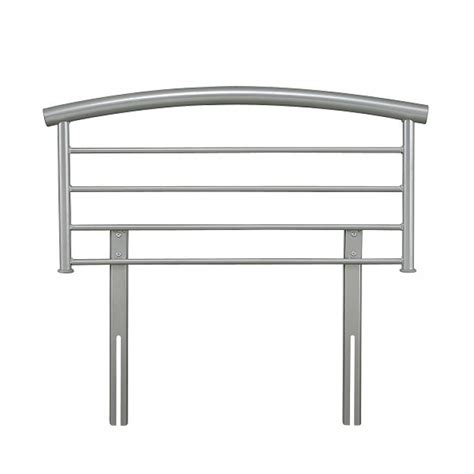 single metal headboard serene brennington 3ft single silver metal headboard
