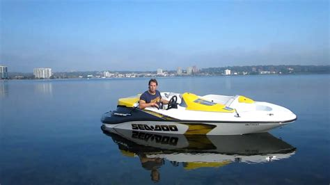 sea doo speed boat 2008 seadoo speedster supercharged youtube